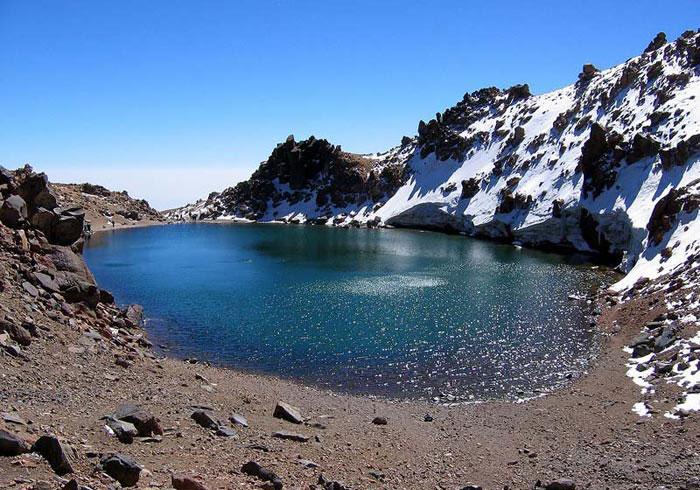 دریاچه قله سبلان