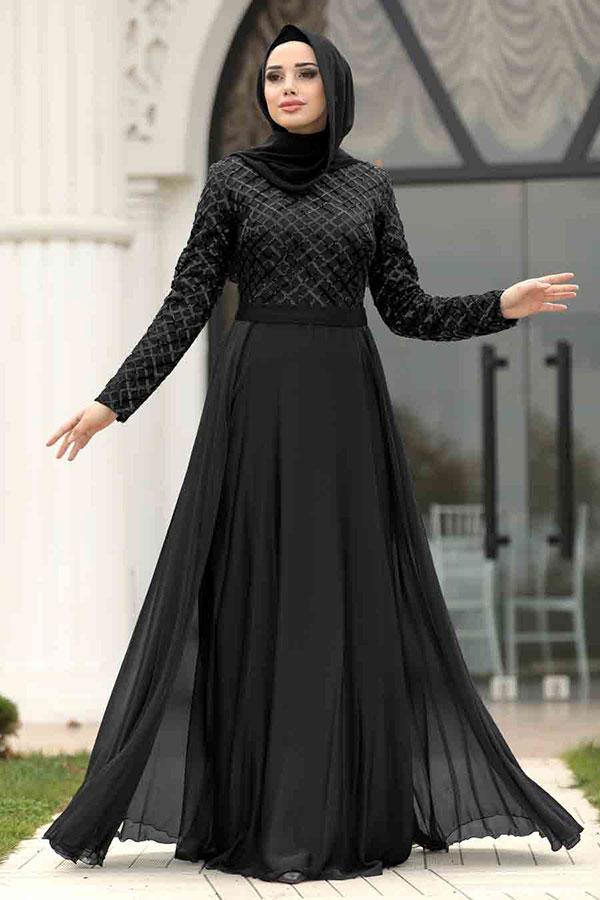 لباس مجلسی پوشیده زنانه