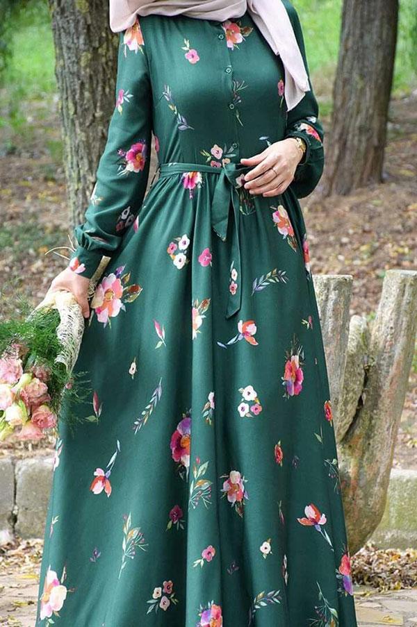 مدل لباس زنانه مجلسی با حجاب