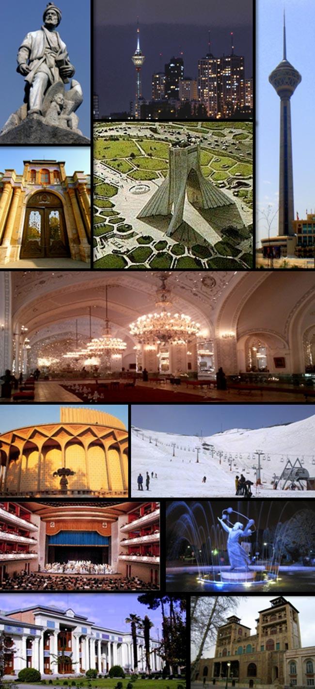 دیدنی های شهر تهران