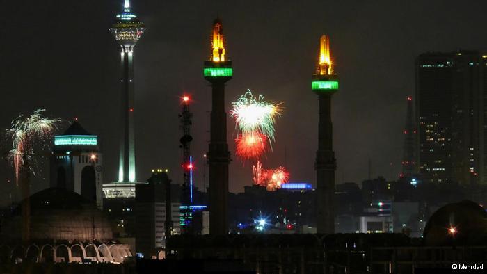 جشن و شادی در تهران