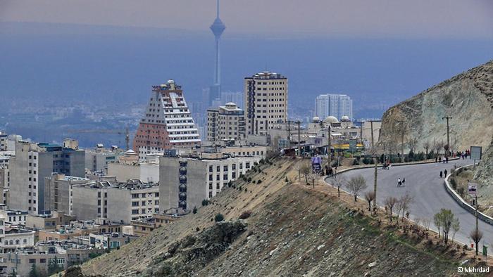 شهر تهران و برج میلاد