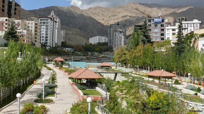 پارک ساسان در ولنجک