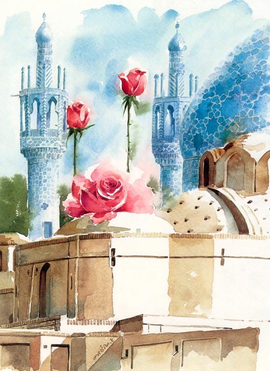 نقاشی های زیبای علی اکبر صادقی