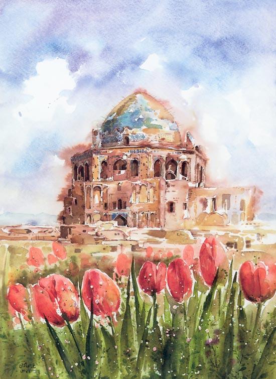 نقاشی های علی اکبر صادقی