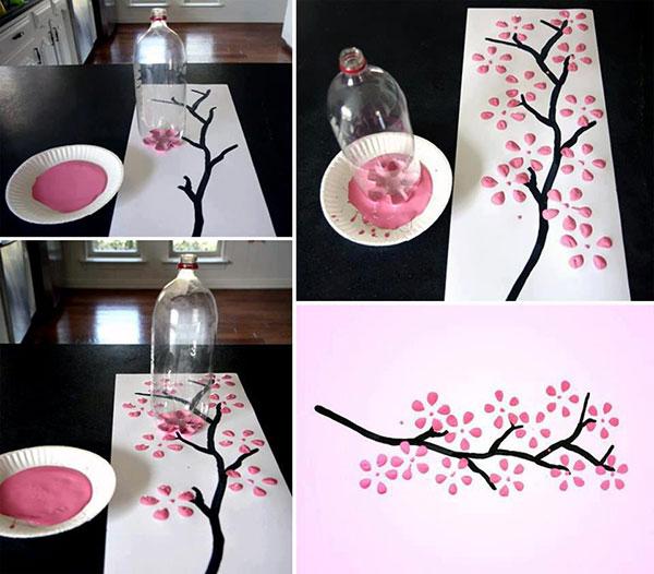 کار های هنری خلاقانه در خانه