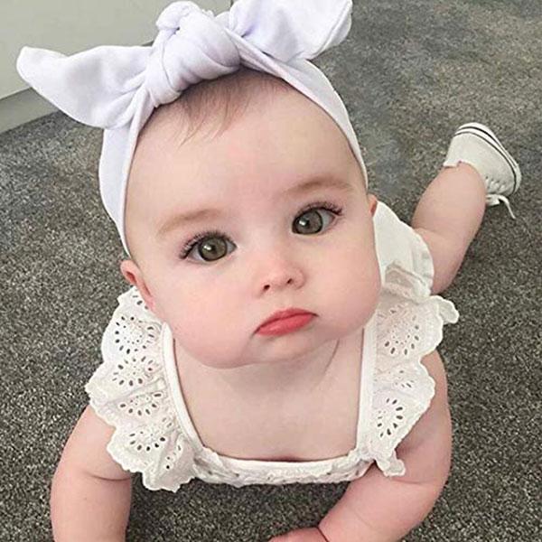 عکس دختر بچه کوچولوی چشم سبز