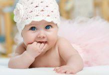 عکس بچه خوشگل چشم رنگی