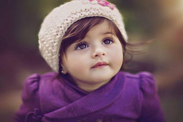 عکس بچه بامزه و تپل