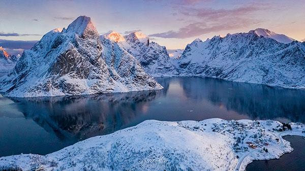 طبیعت بکر زمستانی