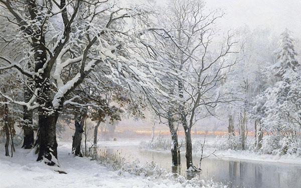 عکس طبیعت زمستانی با کیفیت بالا