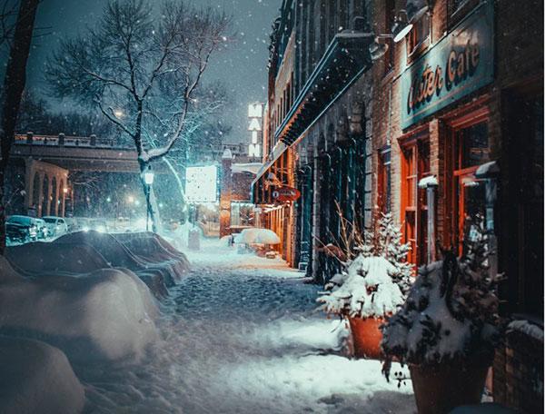 عکس طبیعت زمستانی اروپا