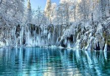 عکس زیبا از مناظر زمستانی