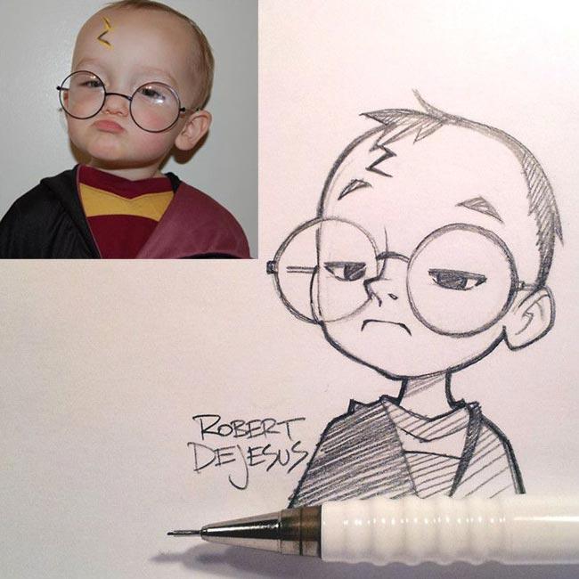 نقاشی های کارتونی جالب