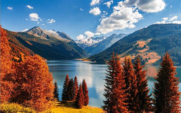 عکس طبیعت زیبای پاییزی