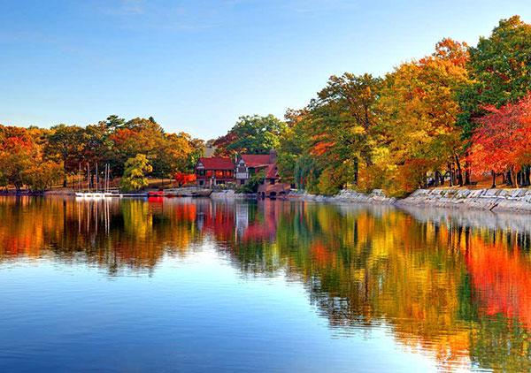 پاییز در نقاط مختلف جهان