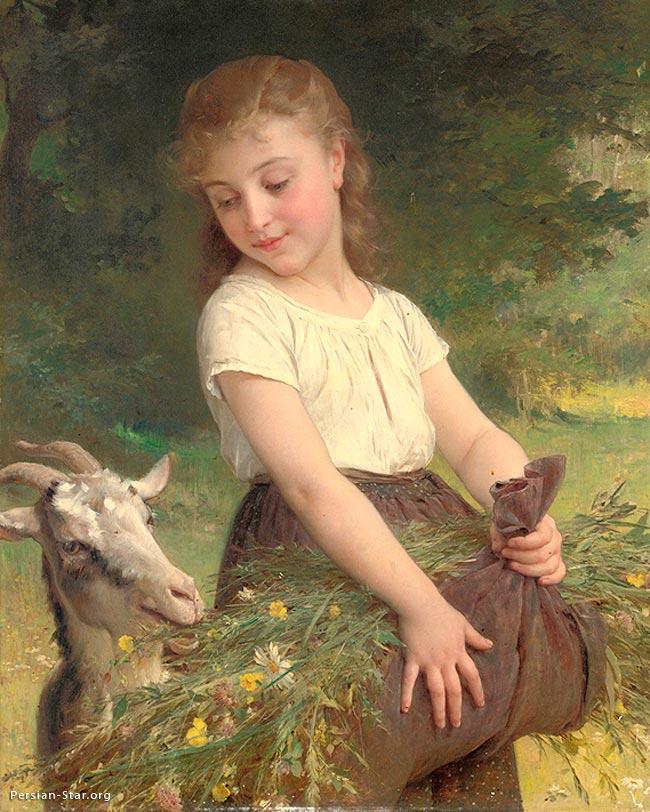 نقاشی دختربچه های زیبا
