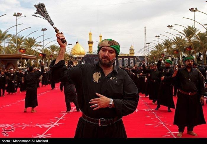 عکس عزاداری در عاشورای حسینی