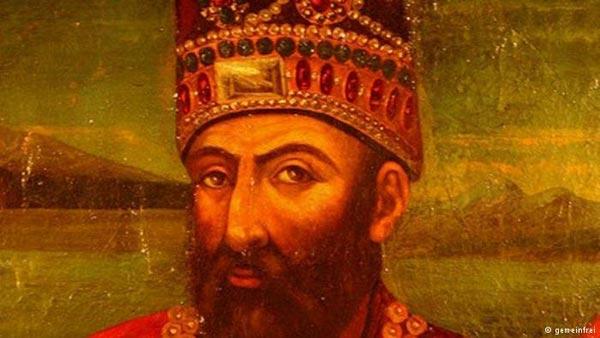 پرترهای از نادر شاه