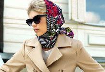 آموزش بستن روسری لاکچری