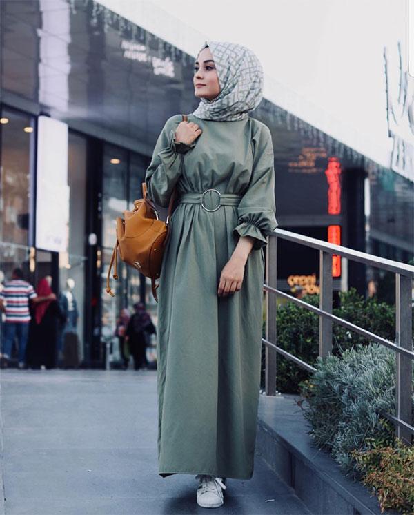 مدل مانتو با حجاب مجلسی