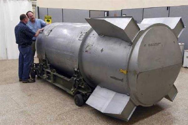 کشورهای دارنده بمب اتمی