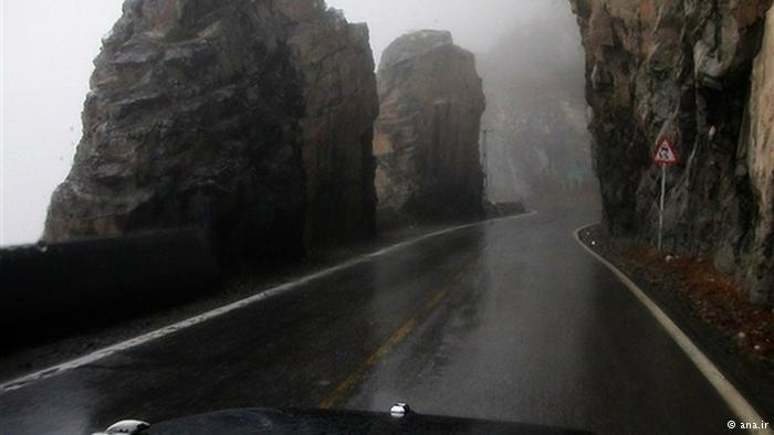 عکس های تونل کندوان و جاده چالوس