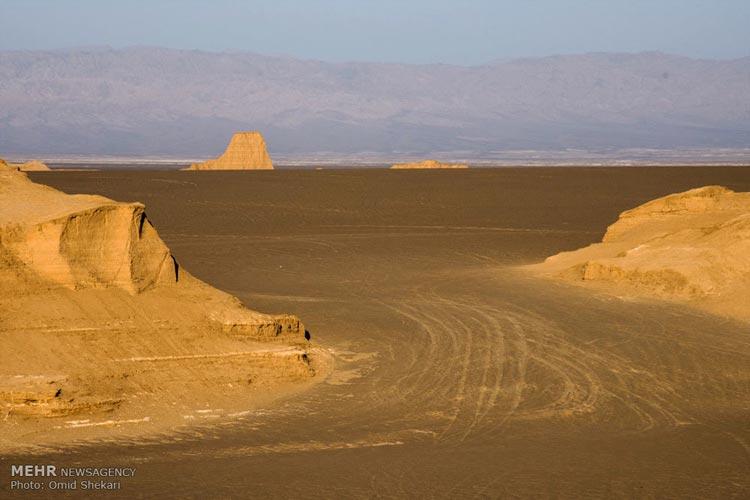 مشهورترین کویرهای ایران