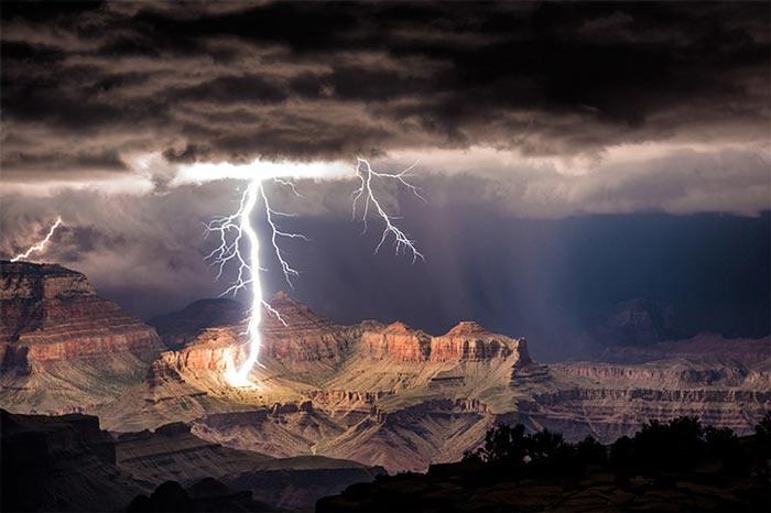 زیباترین تصاویر از رعد و برق