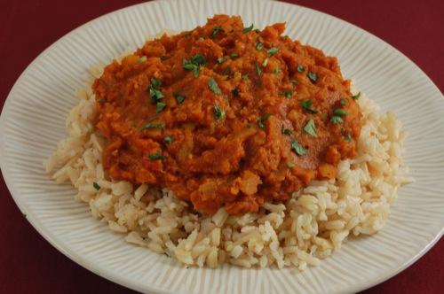 طرز تهیه و روش پخت خورش دال عدس خوشمزه , خورش دال عدس با برنج