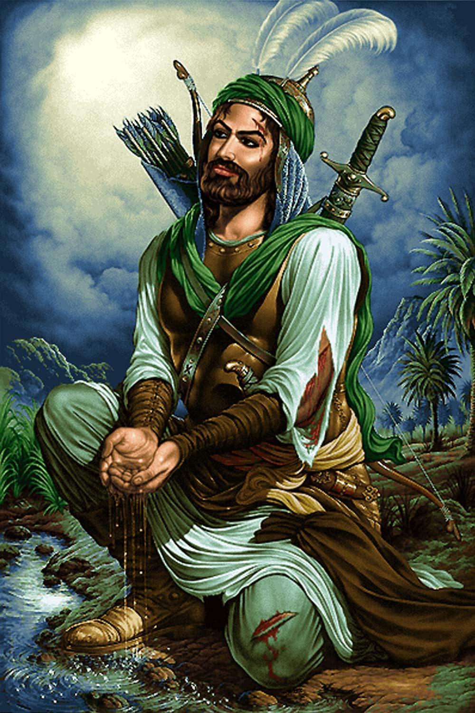 عکس حضرت ابوالفضل برای پروفایل , عکس حضرت عباس در کربلا , دانلود عکس حضرت ابوالفضل(ع)