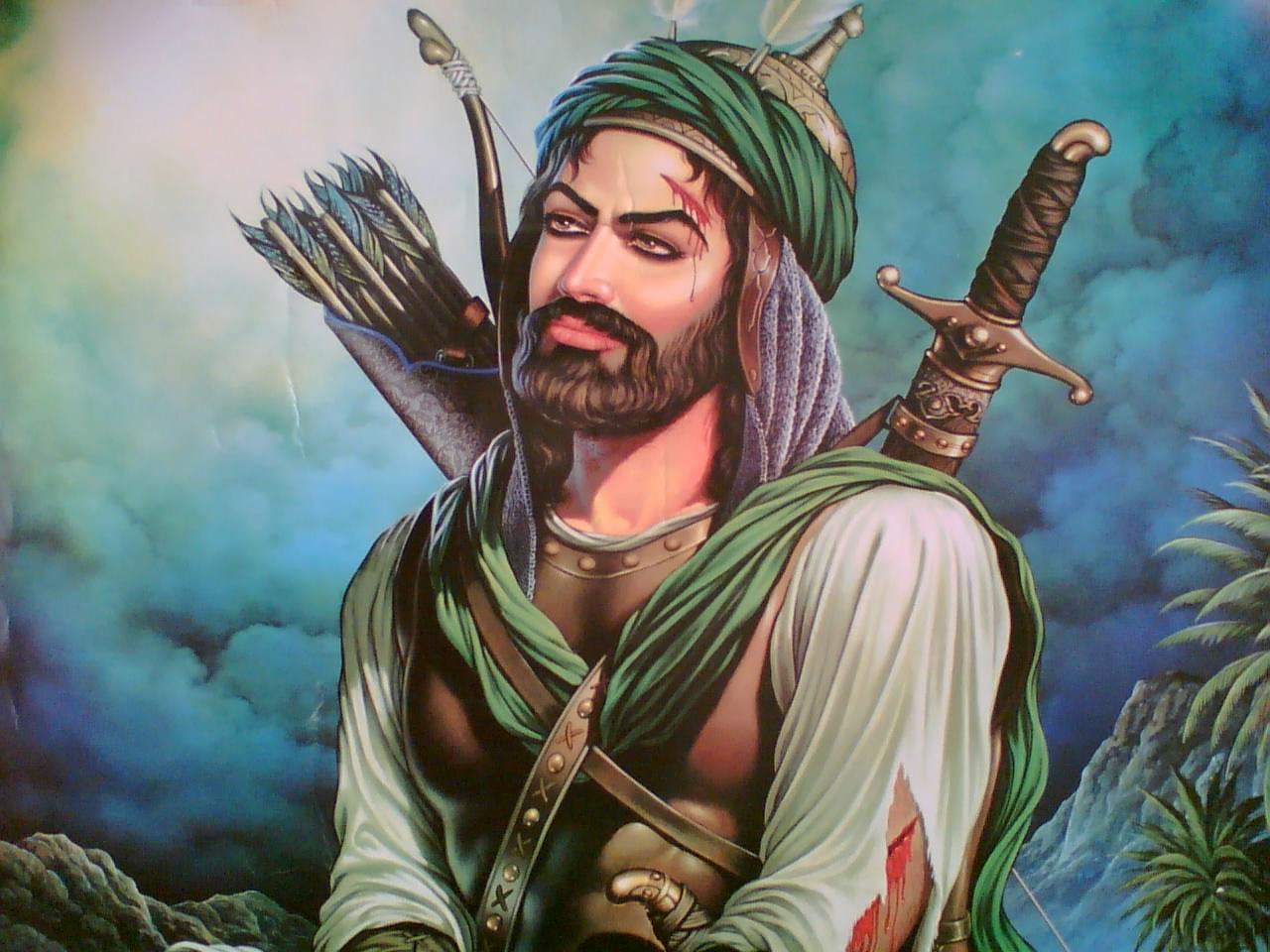 عکس حضرت ابوالفضل برای پروفایل , عکس حضرت ابوالفضل دانلود , عکس حضرت عباس برای پروفایل