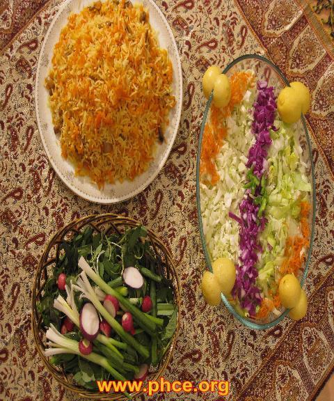 طرز تهیه هویج پلو بدون گوشت مجلسی خوشمزه