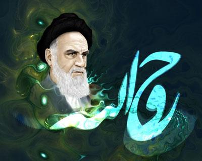عکس جدید رحلت امام خمینی