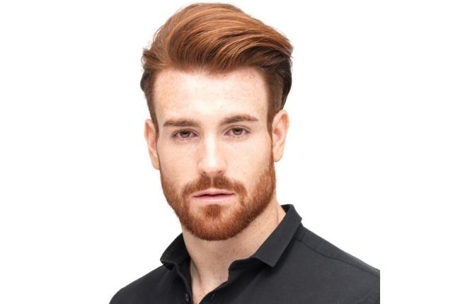مدل مو مردانه برای صورت کشیده و لاغر