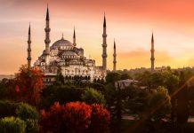 مسجد سلطان احمد در ترکیه