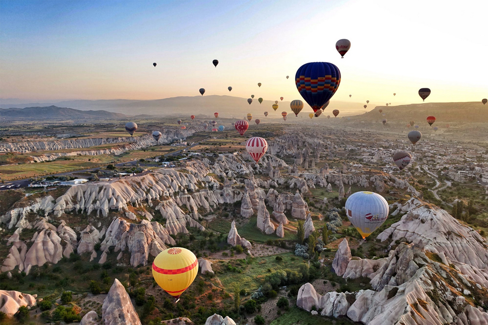 بالن سواری در ترکیه