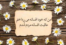 اشعار کوتاه فریدون مشیری