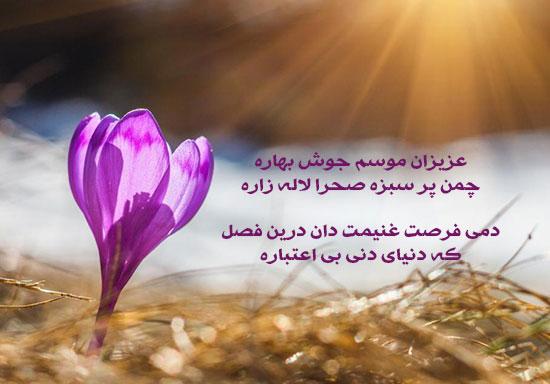 عکس نوشته بابا طاهر