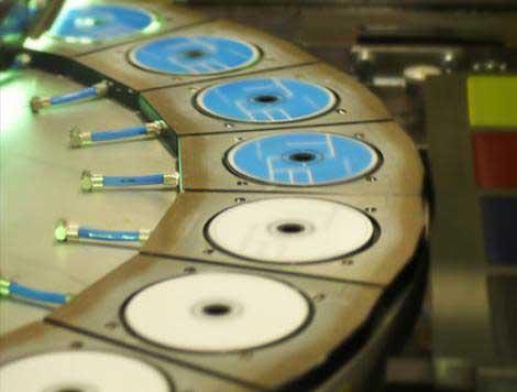 مراحل ساخت و چاپ انواع سی دی CD