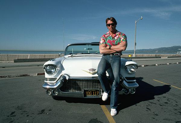 عکس آرنولد در دوران جوانی