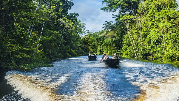 تصاویر جالب از رود آمازون