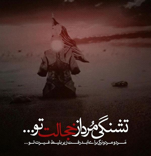 عکس نوشته برای روز تاسوعا