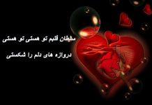 متن شعر آهنگ سلطان قلب ها