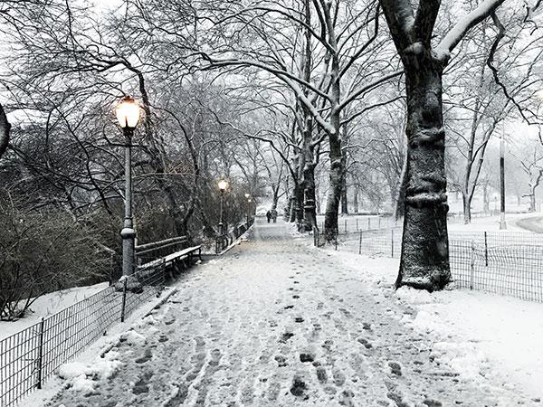 انشا در مورد یک روز سرد و برفی زمستانی