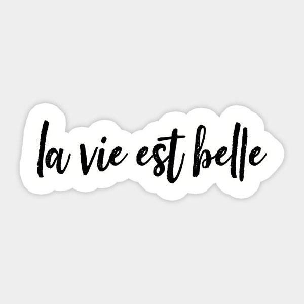 پروفایل متن فرانسوی