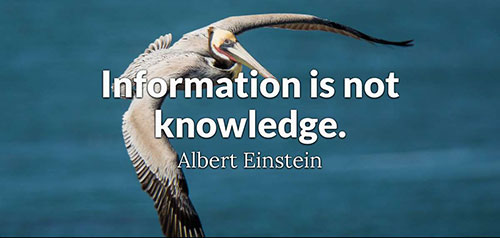 سخنان آلبرت انیشتین به انگلیسی