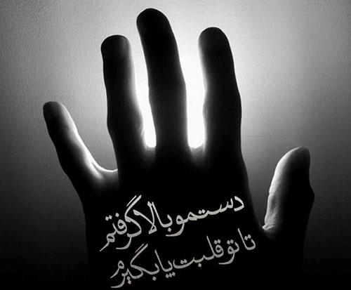 عکس پروفایل شعر محسن چاوشی