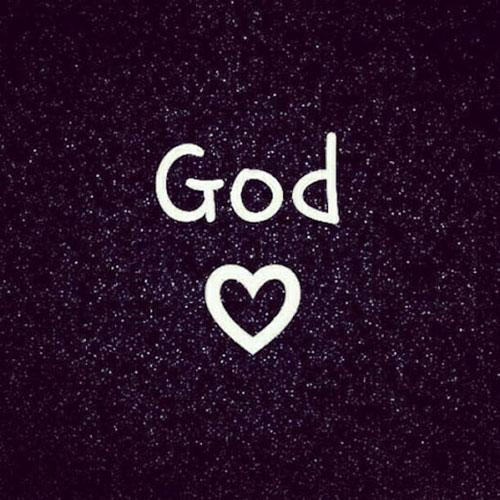 عکس نوشته خدا به انگلیسی