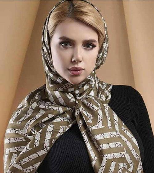 مدل بستن شال بی حجاب دخترانه